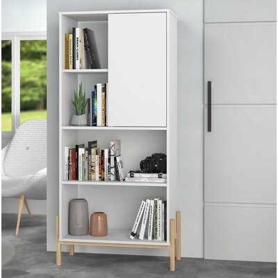 Sandry Geometric Bookcase - Wayfair