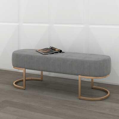 Stoehr Upholstered Bench - Wayfair