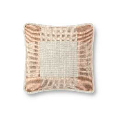 Decorative Square Pillow Cover and Insert - Birch Lane