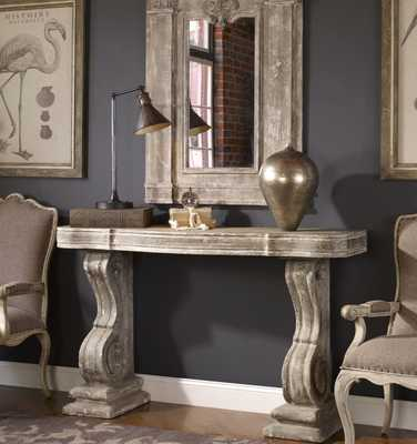 Partemio Distressed Console Table - Hudsonhill Foundry