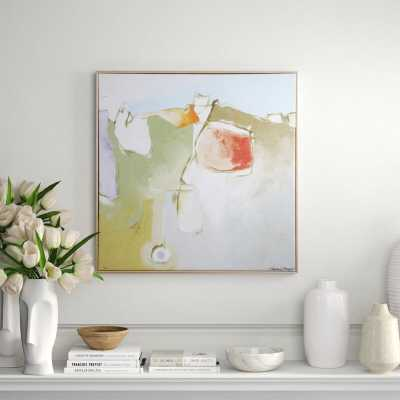 Shadow Catchers 'Soft Touch ' Framed Painting Print - Perigold