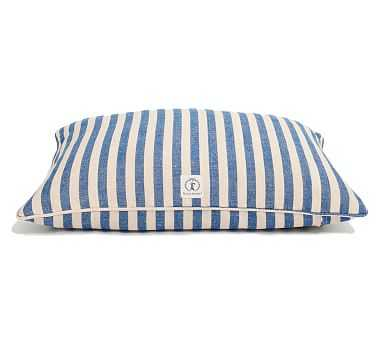 Harry Barker Vintage Stripe Pet Bed, Large - Blue - Pottery Barn