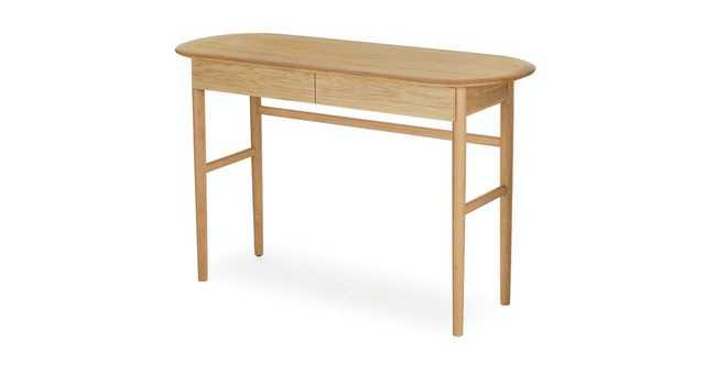 Valis Oak Desk - Article