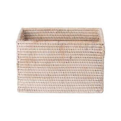 Shelf Rattan Basket - Wayfair