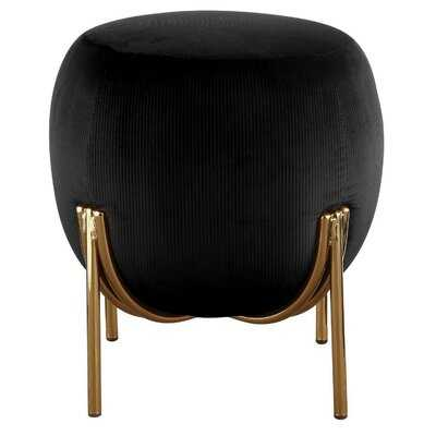 "Elodie 17"" Round Cocktail Ottoman - Wayfair"