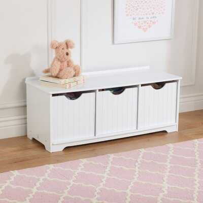 Nantucket Toy Storage Bench - Wayfair