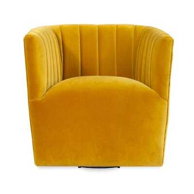 Foust Fabric Swivel Armchair - AllModern