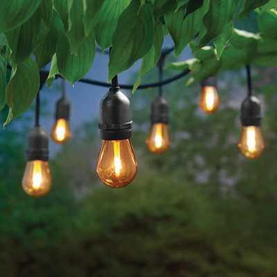 Hampton Bay 12 ft. 6 Socket LED Flame Effect Indoor/Outdoor String Light (4-Pack) - Home Depot