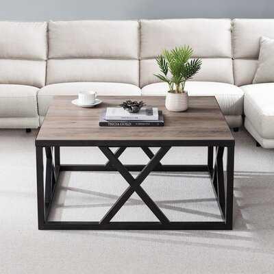 Haskin Frame Coffee Table - Wayfair