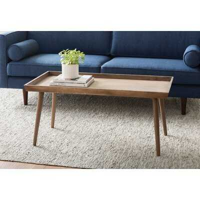 Muniz Coffee Table with Tray Top - AllModern