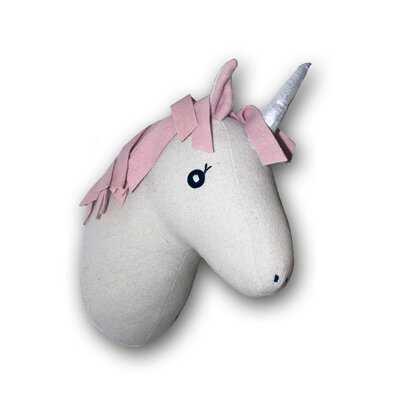 The Unicorn 3D Animal Head Wall Décor - Wayfair