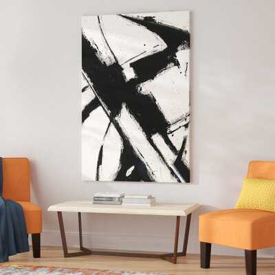 Expression Abstract I - Picture Frame Print on Canvas - AllModern