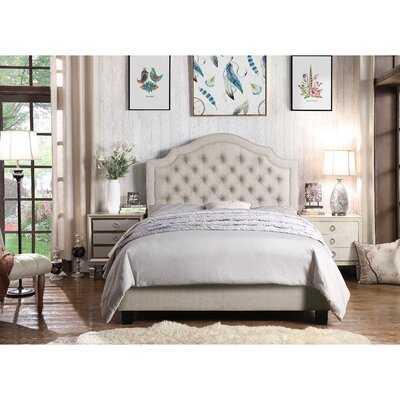 Swanley Upholstered Standard Bed - Wayfair