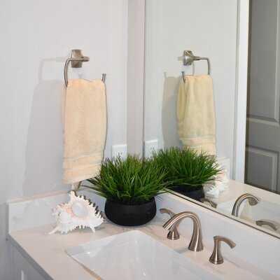 5.5'' Artificial Foliage Grass in Decorative Vase - Wayfair