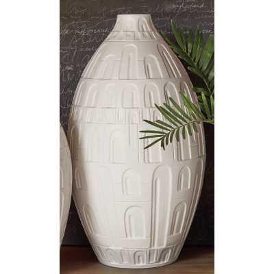 """Studio A Home Coliseum Floor Vase Size: 18"""" H x 9"""" W x 9"""" D - Perigold"""