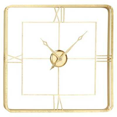 "Oversized Bethan 35.5"" Wall Clock - Wayfair"