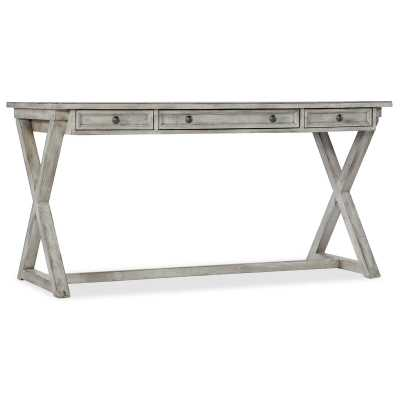 Melange Solid Wood Writing Desk - Perigold