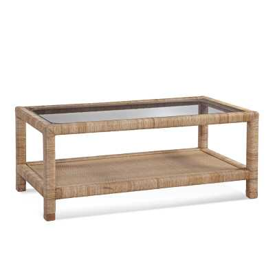 Braxton Culler Pine Isle Coffee Table with Storage Color: Honey - Perigold