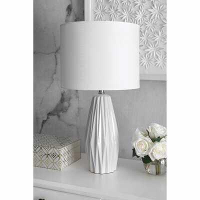 """Aberdash Ceramic 25"""" Table Lamp - AllModern"""
