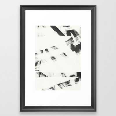 Wabi Sabi 06 Framed Art Print by Iris Lehnhardt - Scoop Black - SMALL-15x21 - Society6