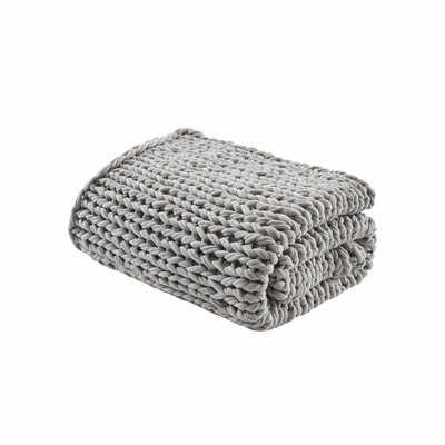 Chunky Double Knit Throw - AllModern