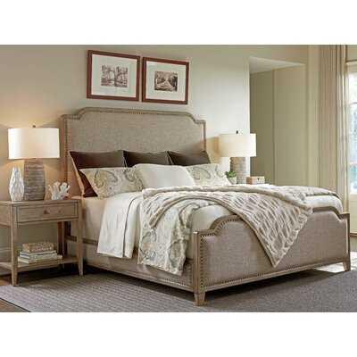 Cypress Point Upholstered Standard Bed - Wayfair