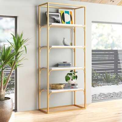 Darrian 4 Tier Etagere Bookcase - AllModern
