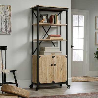 "Rutkowski 69.8"" H x 31.69"" W Metal Standard Bookcase - Wayfair"