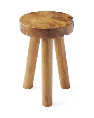 Teak Stool - Serena and Lily