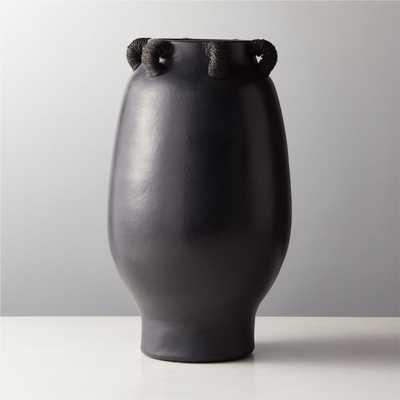 Acadia Black Vase - CB2