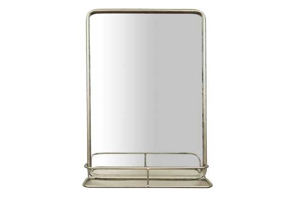 Rectangle Wall Mirror with Shelf - Nomad Home