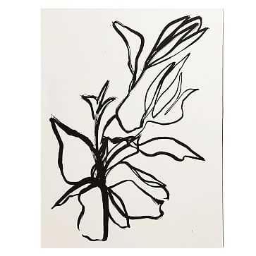 """Flora Art Print, 11""""x14"""" - West Elm"""