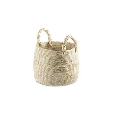 Berke Wicker Basket - Wayfair