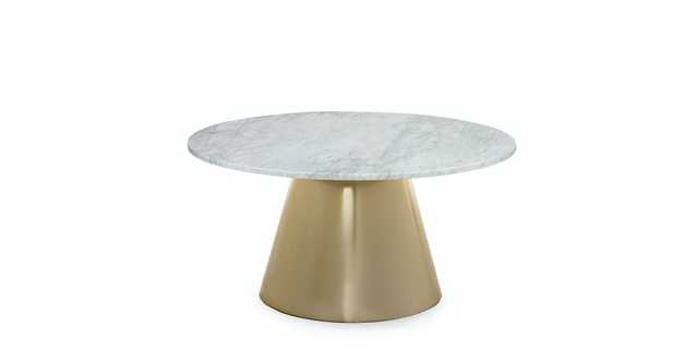 Tromso Brass Coffee Table - Article