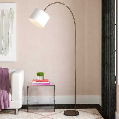 """Montes 80"""" Arched Floor Lamp - AllModern"""