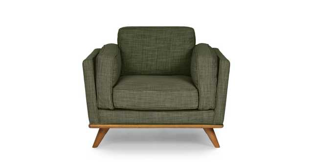 Timber Olio Green Chair - Article