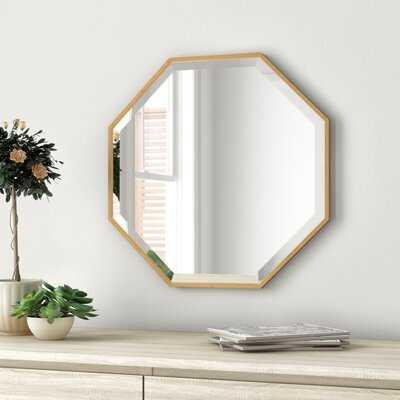 Morganton Modern & Contemporary Beveled Bathroom / Vanity Mirror - Wayfair