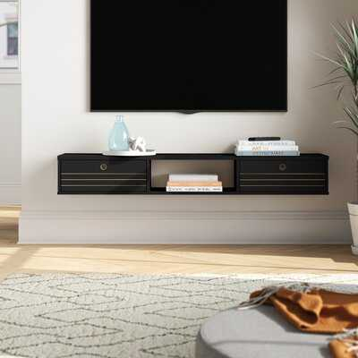 "Hayward Floating TV Stand for TVs up to 60"" - Wayfair"