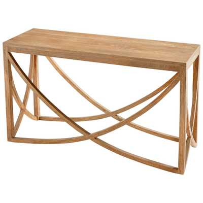 Lancet Arch Console Table - Onyx Rowe