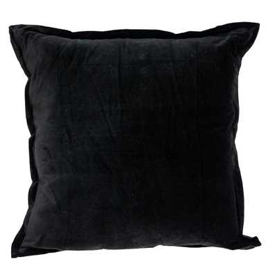 PARKLAND COLLECTION Acer Transitional Black Throw Pillow - Home Depot