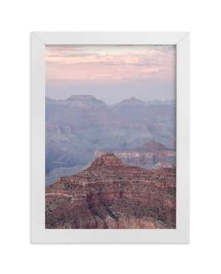 Grand Canyon Blush Art Print - Minted