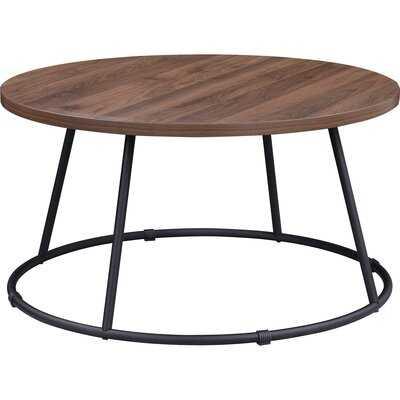 Lorell Round Coffee Table - Wayfair