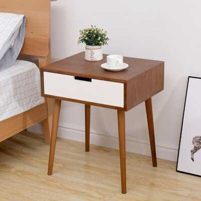 Side End Table With Drawer - Wayfair