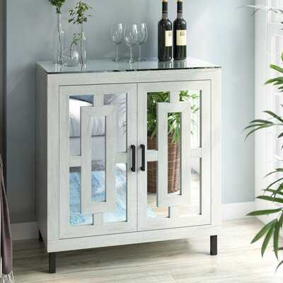 Whitmore Bar Cabinet with Wine Storage - Wayfair
