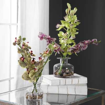 Malin Orchid Bud Vases, Set/2 - Hudsonhill Foundry