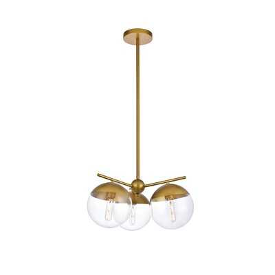 Yearby 3 - Light Candle Style Globe Chandelier - AllModern