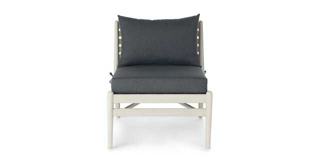 Lagora Washed Oak Lounge Chair - Article