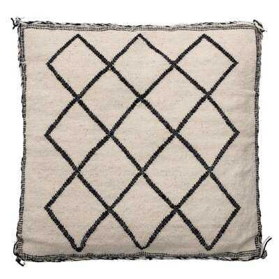 Gibb Geometric Throw Pillow - Wayfair