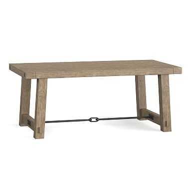 "Benchwright Dining Table, Seadrift, 74""L x 38""W - Pottery Barn"