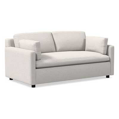 """Marin 71"""" Sofa, Down, Performance Coastal Linen, Stone White, Concealed Support - West Elm"""